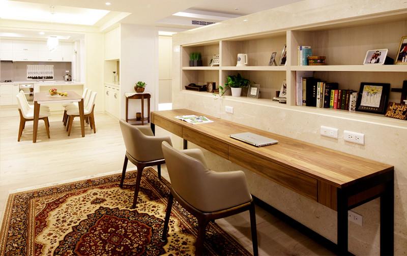 现代风格居室空间-客餐厅