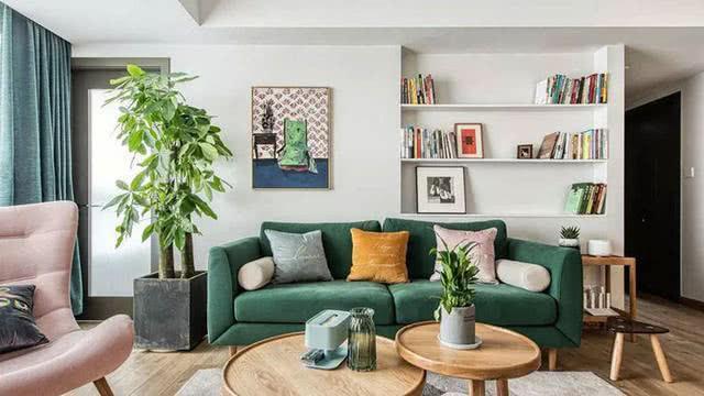 110平米房子装修图片,丰富的色彩搭配很温馨!