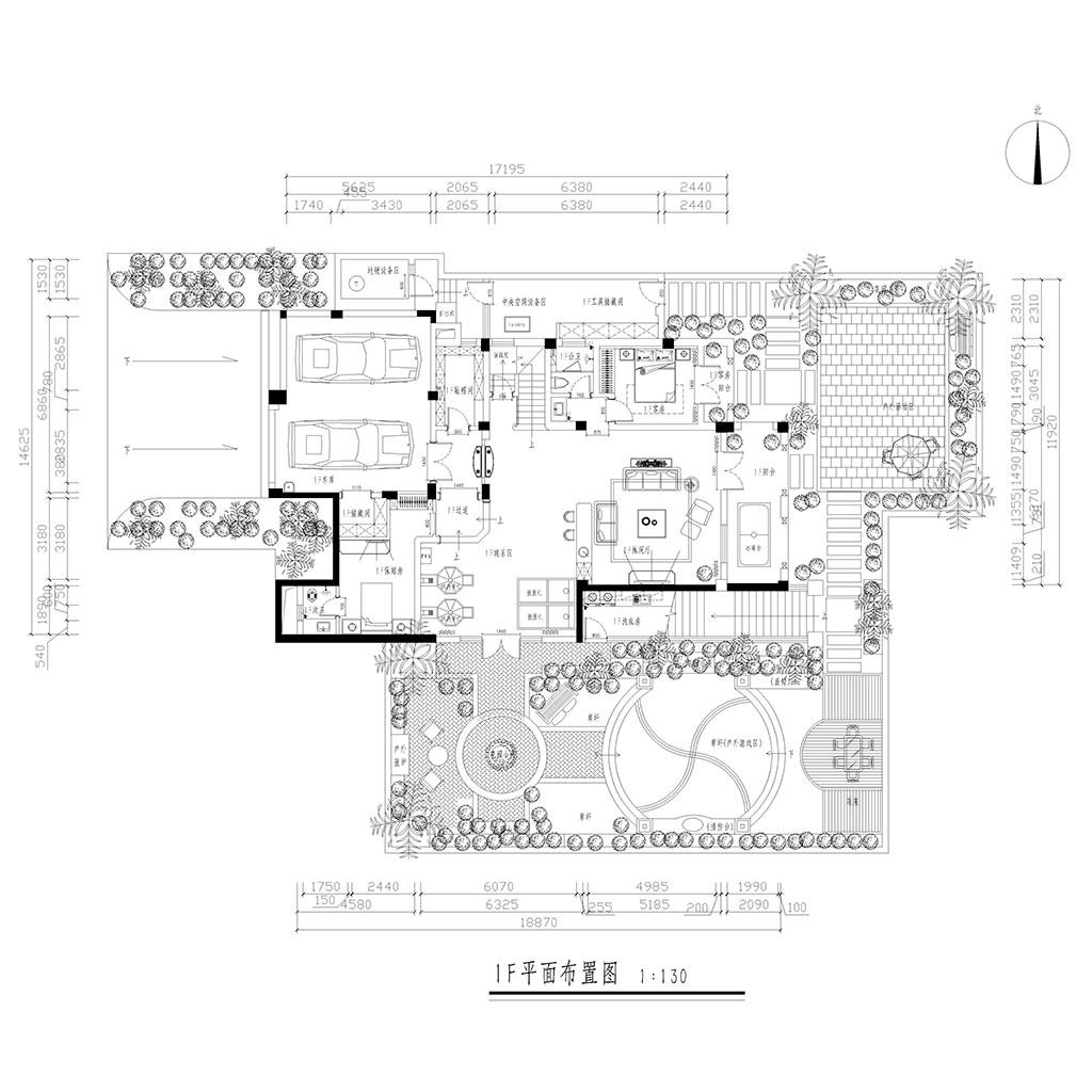 亚特兰蒂斯472㎡别墅简欧风格装修效果图装修设计理念