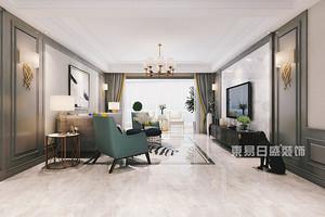 深圳180平米豪宅装修,这款美式新古典值得一看