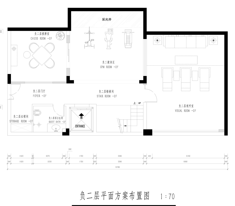 东城鼎峰尚境简欧风格装修效果图-600㎡别墅装修案例装修设计理念