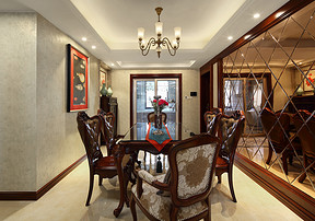 无锡居家中的美式装修设计风格,自然温馨而简练