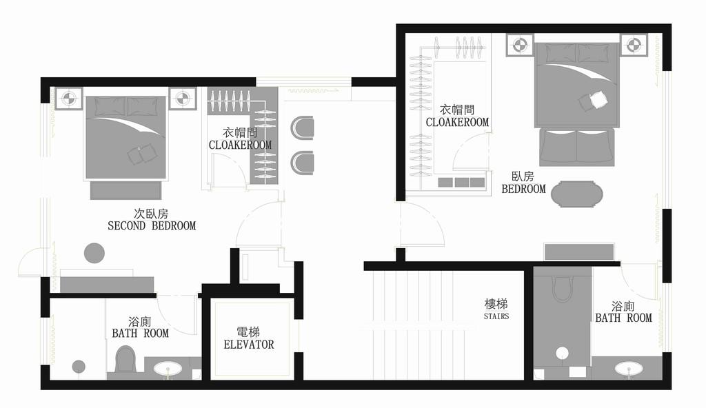 中信墅-新中式风格-560㎡装修设计理念