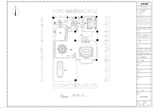 碧桂园-420平米-新中式别墅装修案例效果图装修设计理念