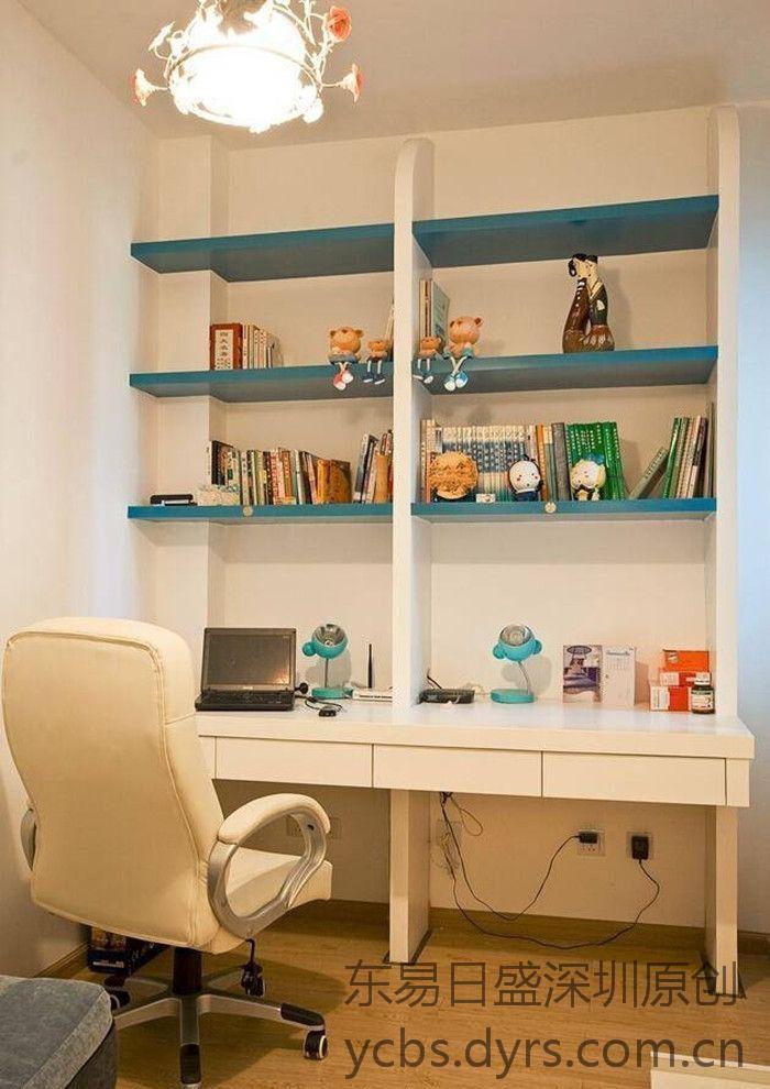 地中海装修风格案例-书房