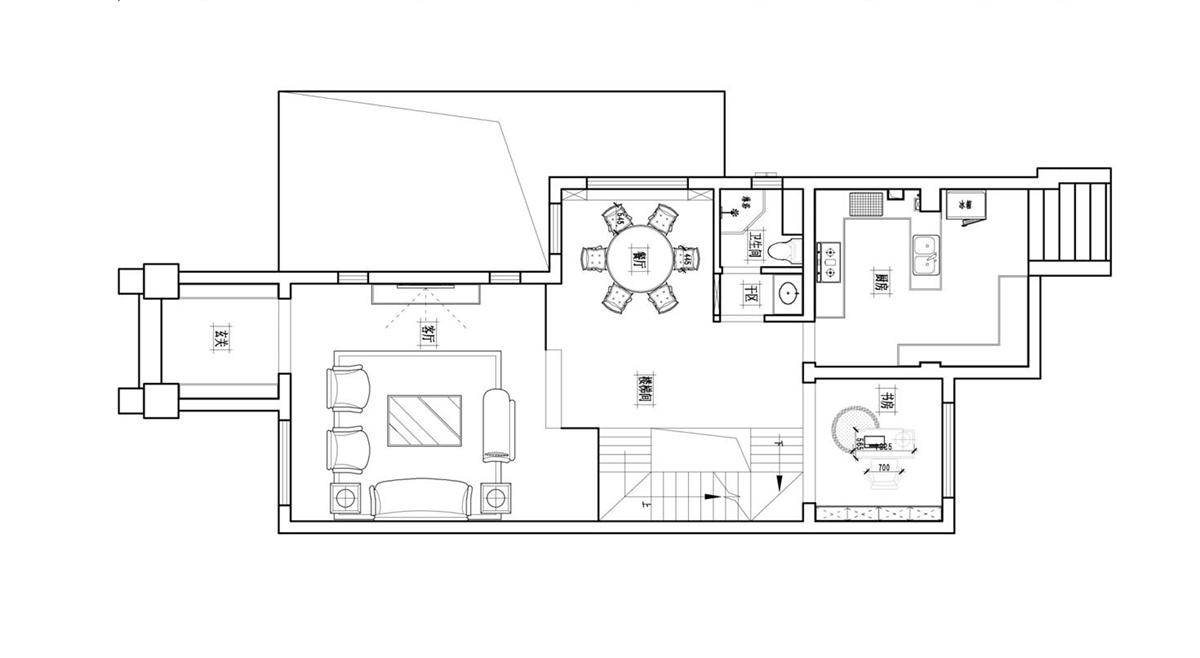 新郑新中式风格350㎡别墅装修设计理念