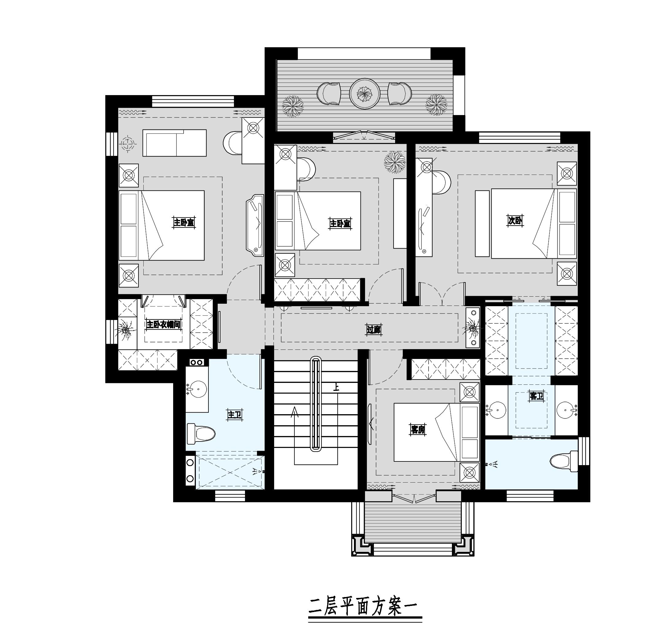 北京院子 简欧 340平米装修设计理念