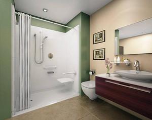 卫生间干湿分区有几种设计方式?