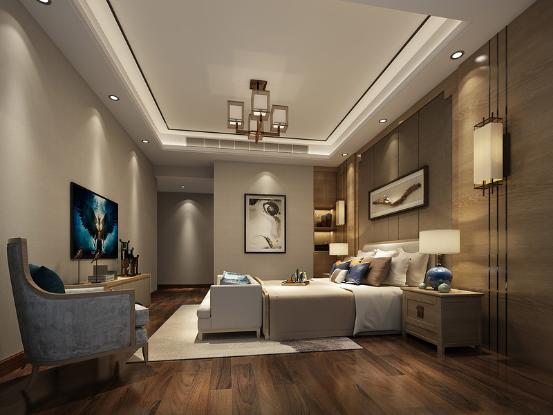 卧室的空间组织划分 如何规划一个标准的卧室