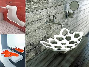 超有艺术范的13个洗手台设计
