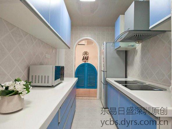 地中海装修风格案例-厨房