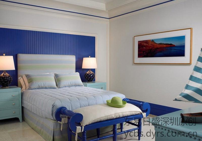地中海装修风格案例-卧室