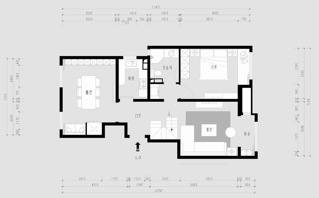 格林云墅-现代装修风格-200平米装修设计理念
