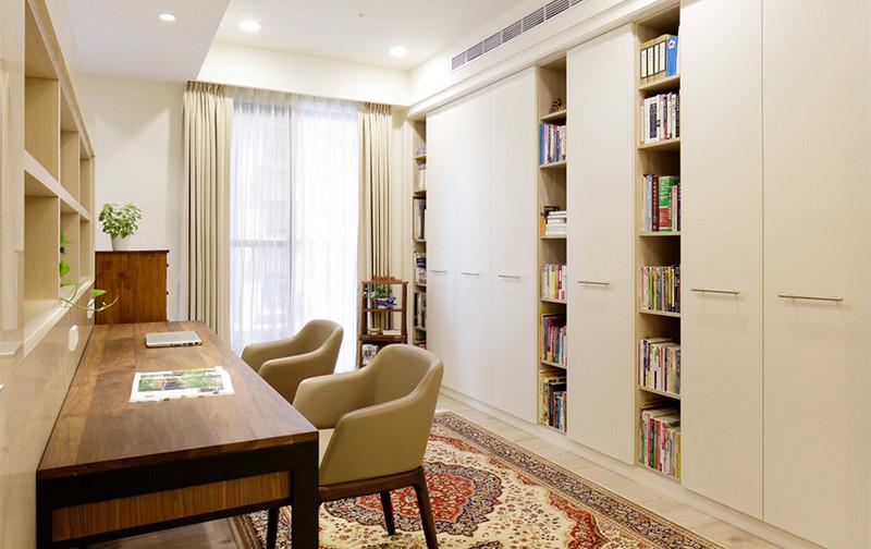 现代风格居室空间-书房