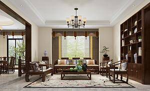 佛山480㎡别墅想要装中式该怎么设计?