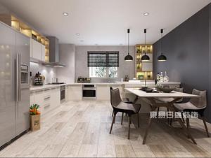 佛山家居厨房装饰,开放式厨房也有不同的装饰型态
