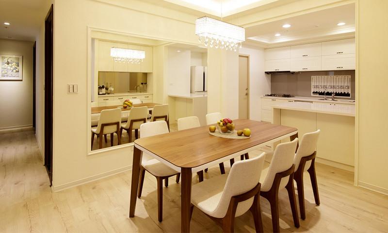 现代风格居室空间-餐厅