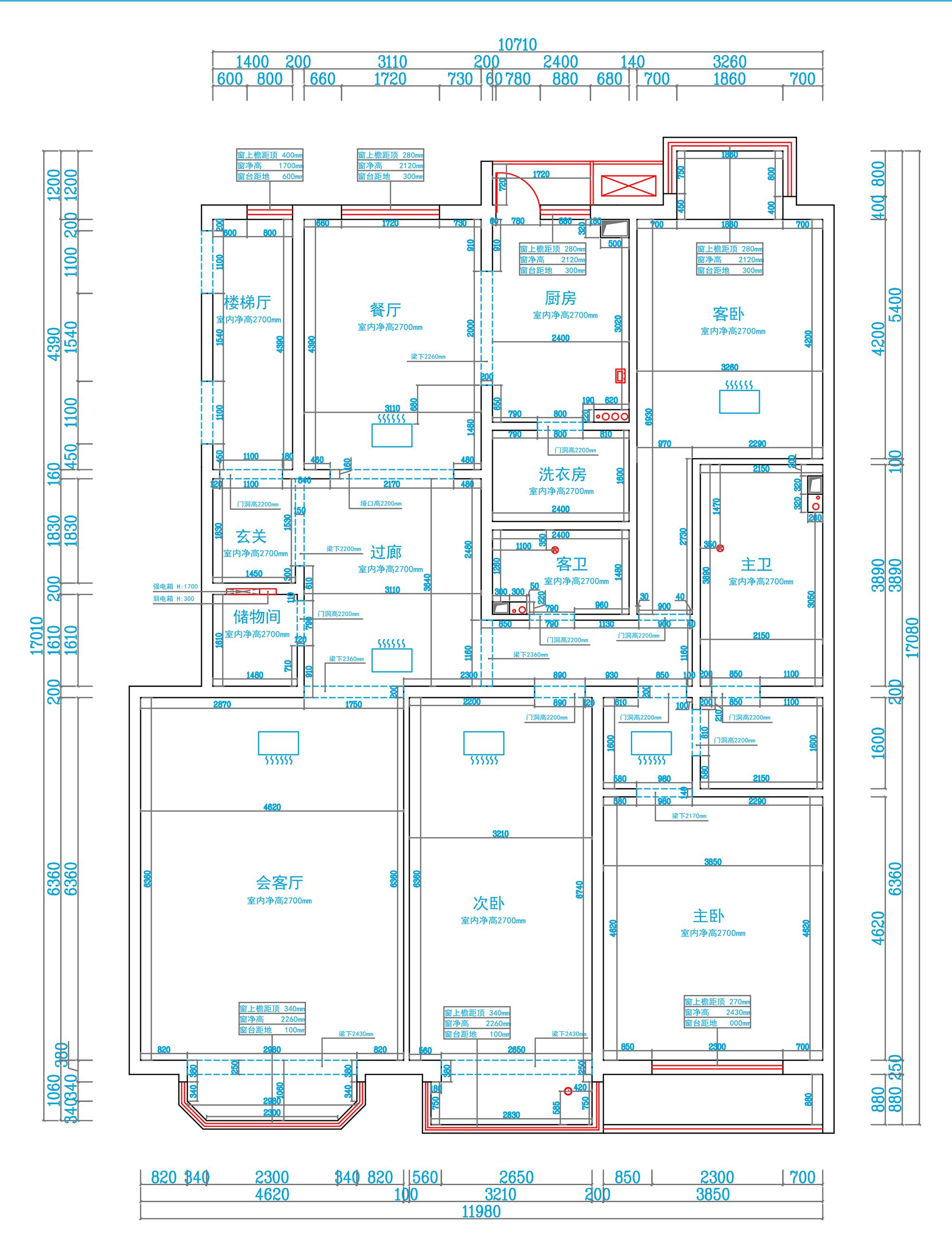 华贸城-现代前卫-200平米装修设计理念
