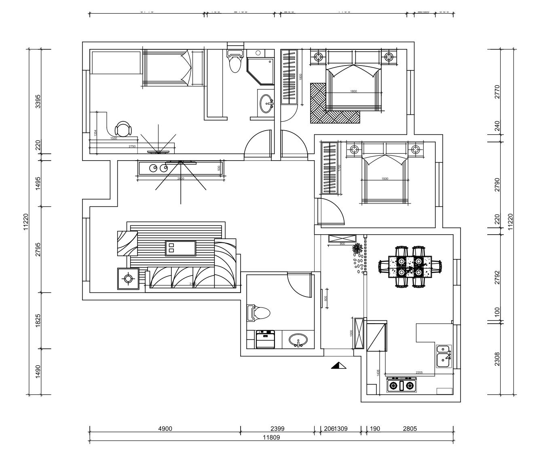 金泰丽湾-现代-140平米装修设计理念