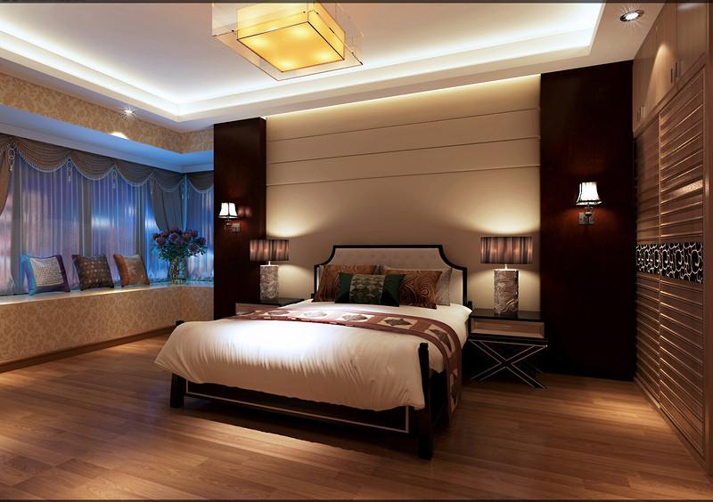 佛奥湾现代奢华110平米设计方案