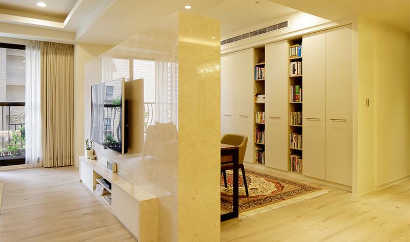 现代风格居室空间-客厅