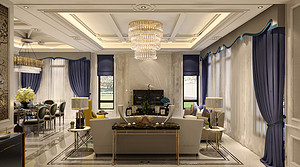 435平欧式风格别墅装修,完整、大气!