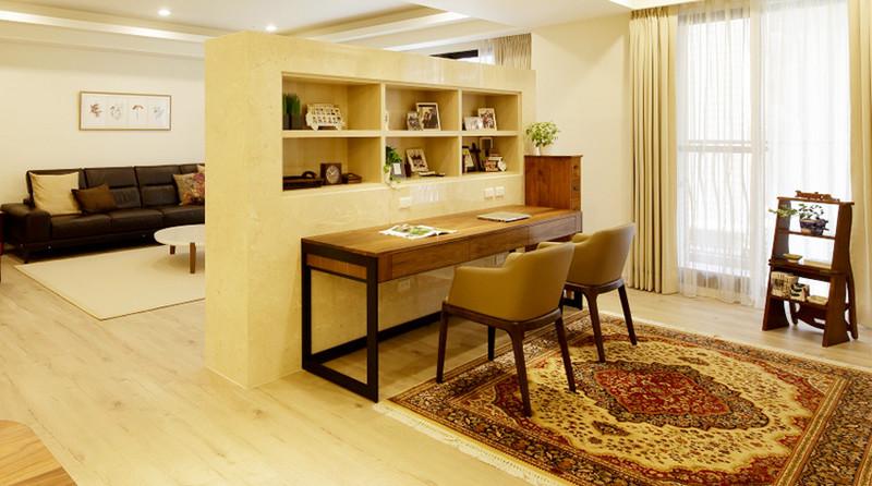 现代风格居室空间-阅读空间
