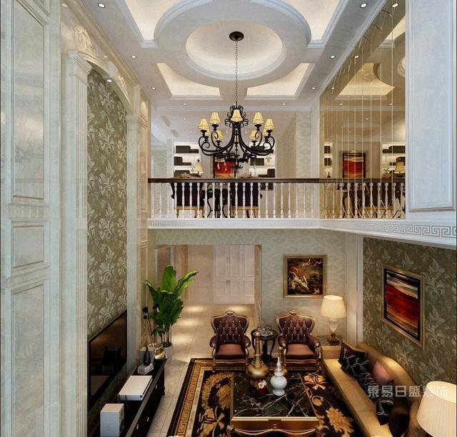 郑州别墅装修设计细节2:厨房挑空高,烟道设计要合理