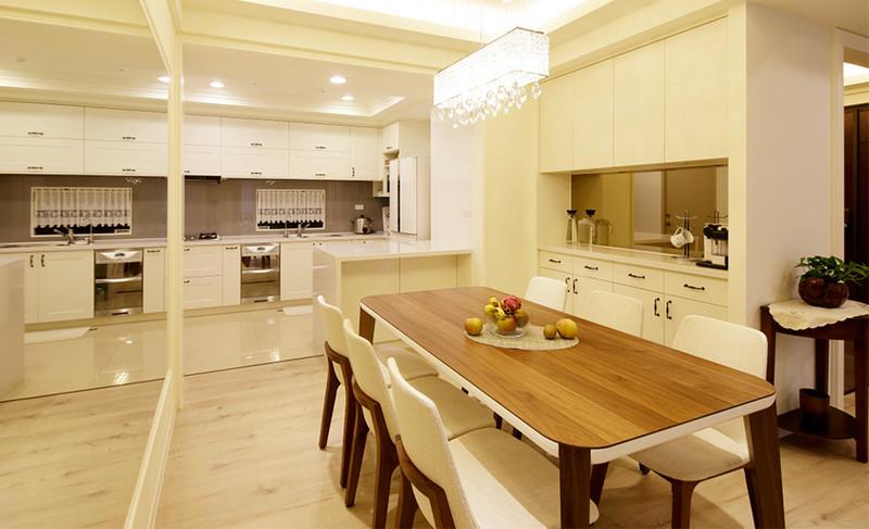 现代风格居室空间-餐厨空间