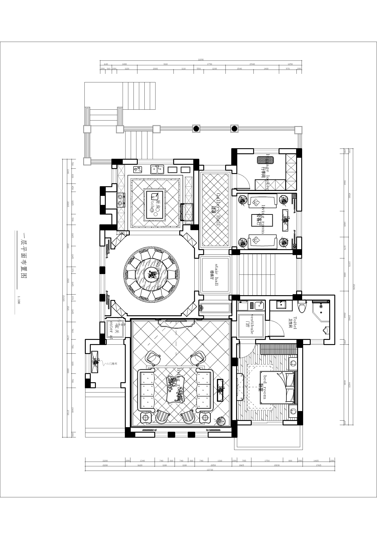 紫郡山庄500㎡装修设计理念