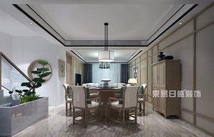 鲁能泰山7号院-六叠中-155平-新中式风格