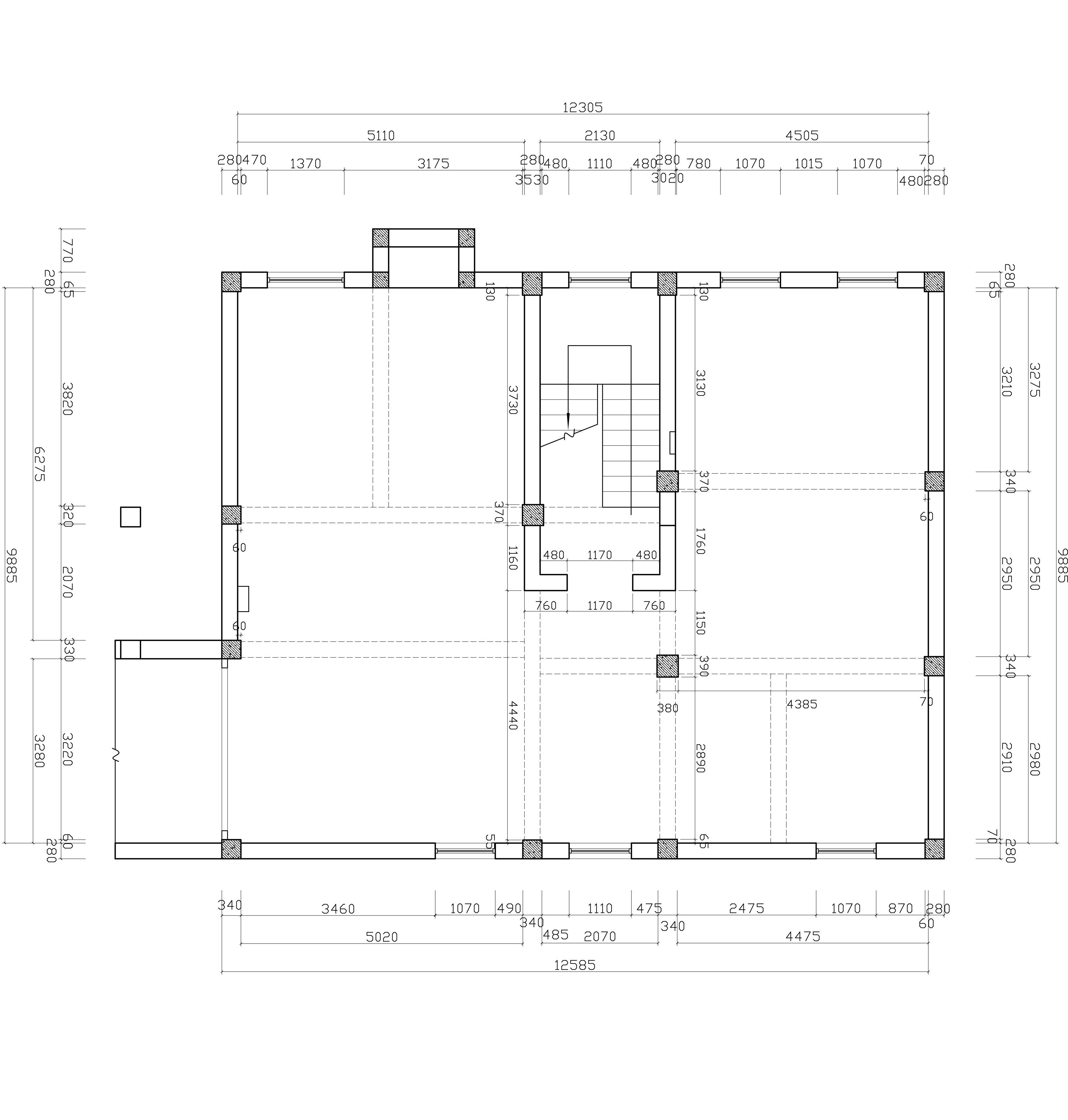 兆隆壹品苑-460平-中式风格装修设计理念