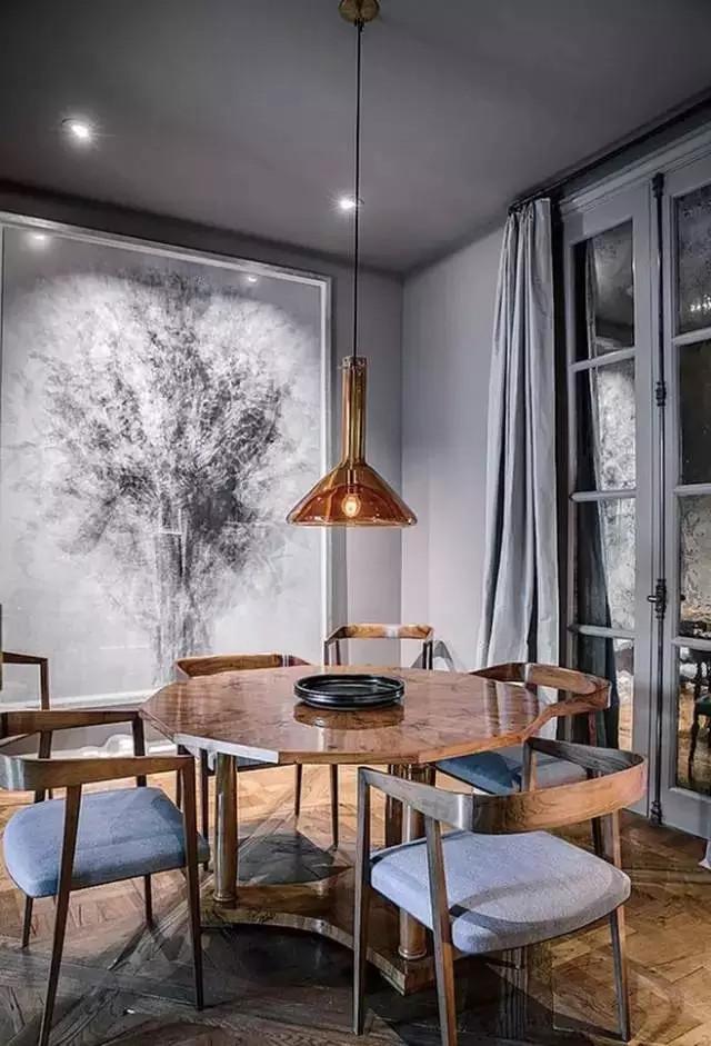 别墅餐厅设计,唯爱与美食不可辜负(图9)