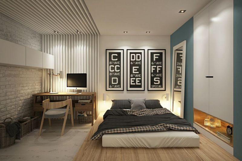 卧室地台装修设计
