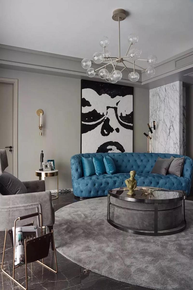 高级灰+蓝色,最优雅的组合,极美!插图(3)