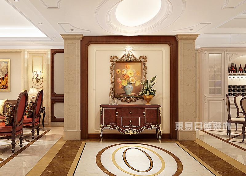 大理滨海俊园海景房 350平米简欧风格装修效果图及简欧风格特点介绍