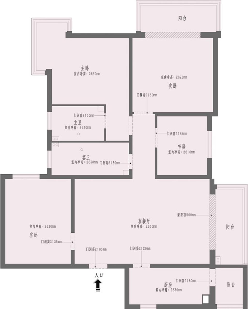 和平区-128平米-都市新奢华装修设计理念
