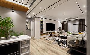 新房怎样装修简简单单又好看?看一下星星凯旋这个简单装修案例吧