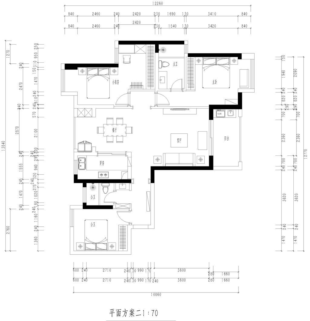 福星惠誉东湖城新美式风格装修效果图装修设计理念