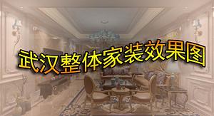看武汉整体家装效果图明白整体家装模式