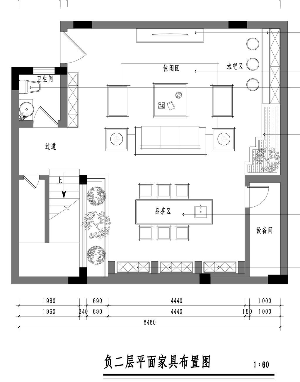 松山湖翡翠松山湖装修效果图-370㎡中式别墅装修案例装修设计理念