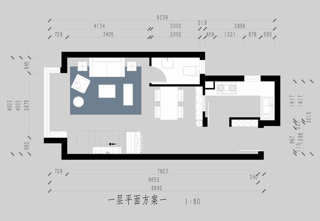 星河185-现代简约装修风格-120平米装修设计理念