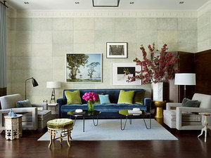 15款绿色系客厅装饰颜色搭配效果图赏析