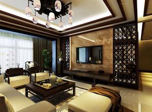 中式装修客厅特点及搭配技巧