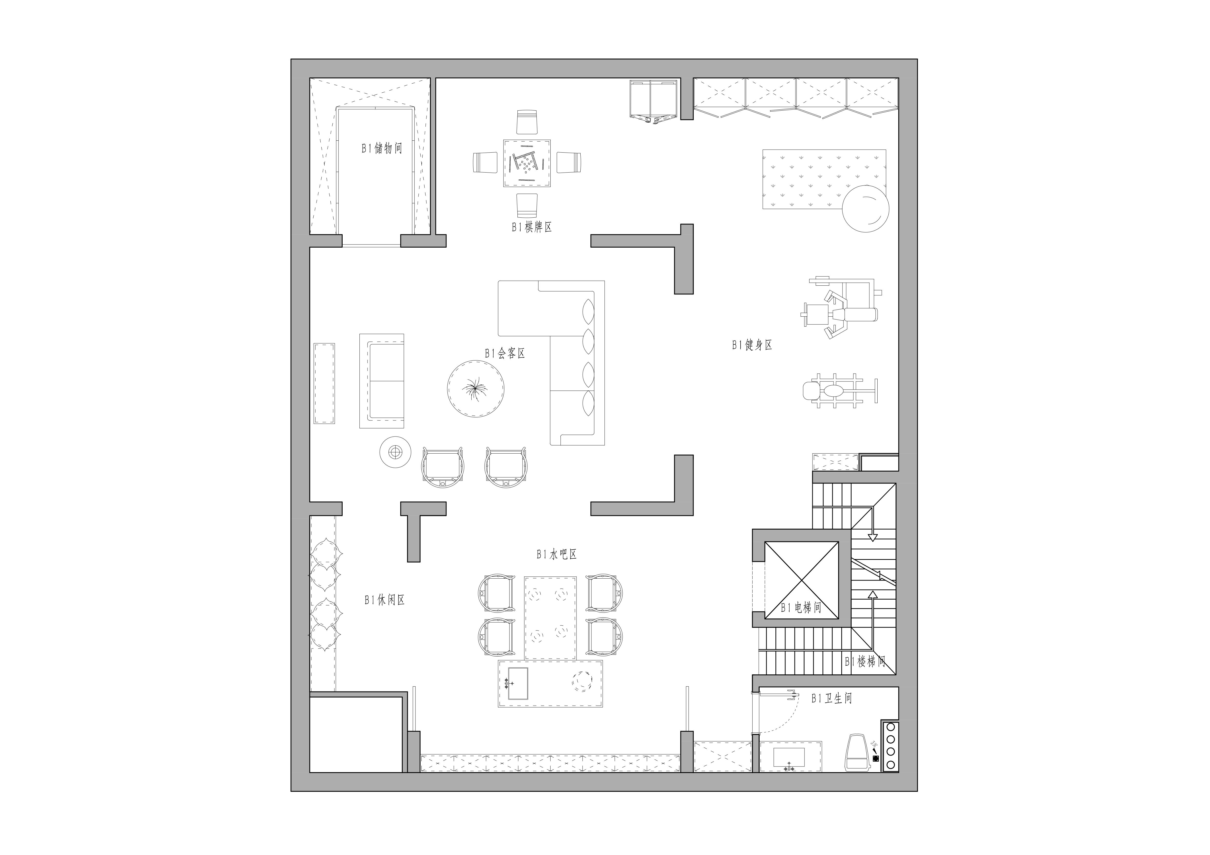 北京院子-400平米-新中式风格装修设计理念