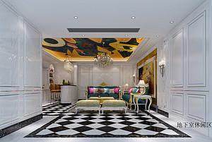 东莞室内装修精致玄关屏风的设计技巧