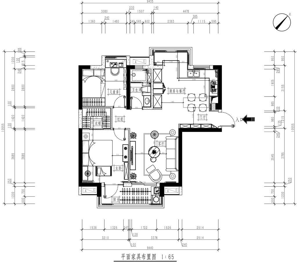 华侨城三期现代风格装修效果图装修设计理念