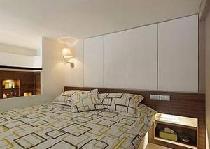 卧室里的新大陆,收纳型床头设计好赞!