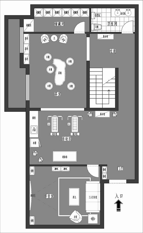燕西华府-美式-170平米装修设计理念
