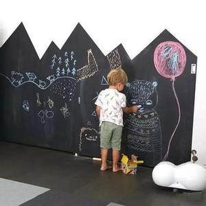 家居黑板墙的DIY诞生